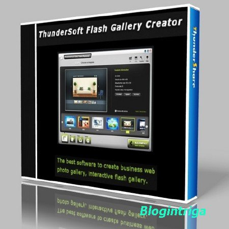 ThunderSoft Flash Gallery Creator 1.8.3 Portable ML/Rus