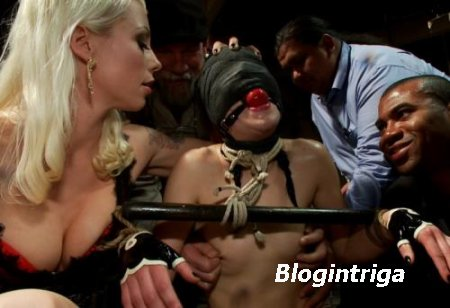 Juliette March - Audience of 70 Humiliates Juliette March, Giggling Tight B ...