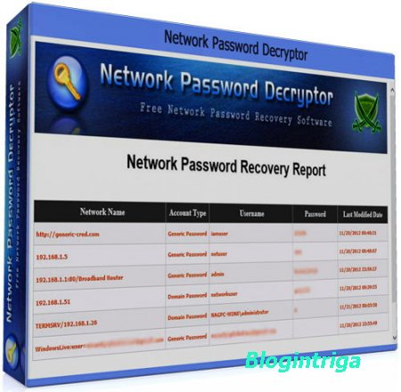 Network Password Decryptor 9.0 (x86/x64) + Portable