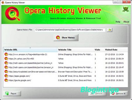 Opera History Viewer 1.0 + Portable