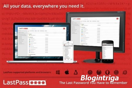 LastPass Password Manager 4.1.36 (Rus/Eng) - менеджер паролей