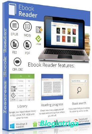 Icecream Ebook Reader Pro 4.35