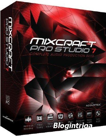 Acoustica Mixcraft Pro Studio 8.0 Build 379