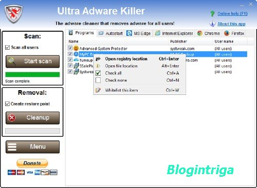 Ultra Adware Killer 5.5.0.0 Portable