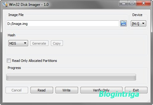 Win32 Disk Imager 1.0.0 + Portable