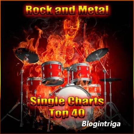VA - Rock and Metal Single Charts Top 40 (17.03.2017)