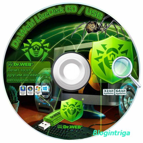 Dr.Web LiveDisk CD/DVD & USB 9.0.0 DC 26.03.2017