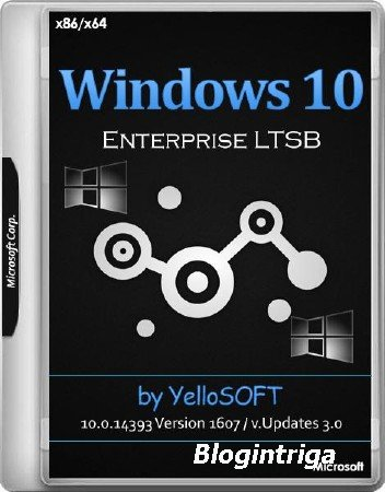 Windows 10 Enterprise LTSB 10.0.14393 Version 1607 x86/x64 Updates 3.0 by Y ...