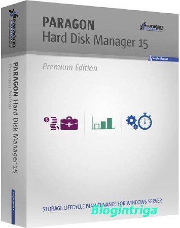Paragon Hard Disk Manager 15 Premium 10.1.25.813 Russian