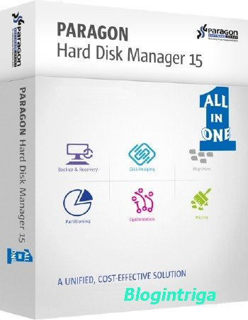 Paragon Hard Disk Manager 15 Professional 10.1.25.1125 + BootCD