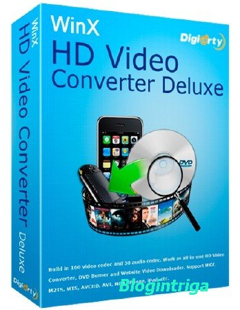 WinX HD Video Converter Deluxe 5.9.9.275 Build 23.05.2017 + Rus