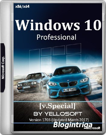 Windows 10 Professional 10.0.15063.0 x86/x64 Version 1703 Updated March 201 ...