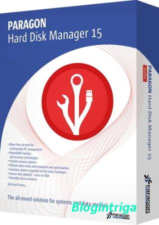 Paragon Hard Disk Manager 15 Professional 10.1.25.1137 RePack by D!akov