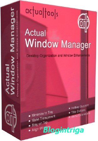 Actual Window Manager 8.11
