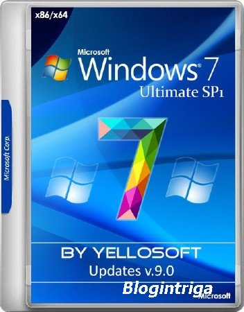 Windows 7 SP1 Ultimate x86/x64 Updates v.9.0 by YelloSOFT (RUS/2017)