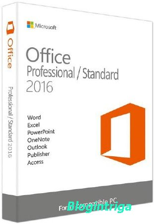 Microsoft Office 2016 Professional Plus / Standard 16.0.4549.1000 RePack by KpoJIuK (2017.07)