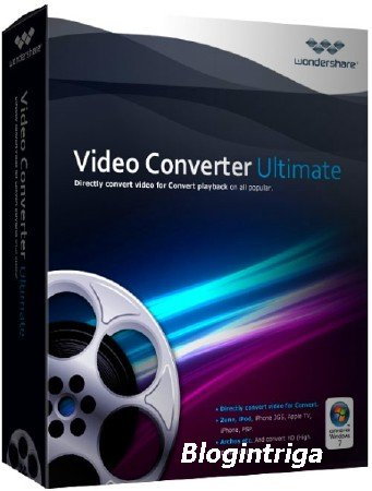 Wondershare Video Converter Ultimate 10.0.3.69