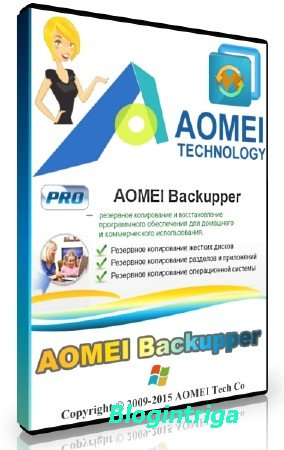 AOMEI Backupper Professional / Technician / Technician Plus / Server 4.0.5 + Rus