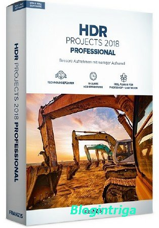 Franzis HDR projects 2018 professional 6.64.02783
