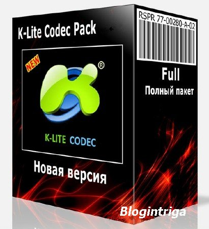 K-Lite Mega / Full / Basic / Standard / Codec Pack 13.6.5