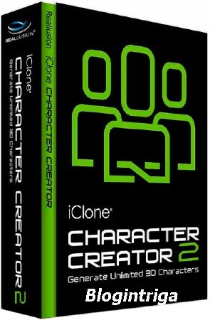 Reallusion Character Creator 2.2.2314.1 + Template Bundle Pack