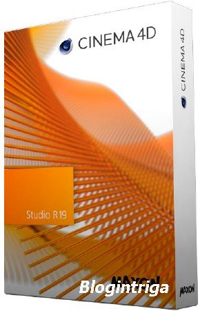 Maxon CINEMA 4D Studio R19.024 RePack by PooShock + Content