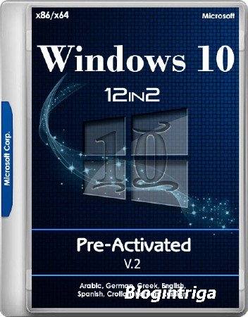 Windows 10 RS3 1709.16299.214 AIO x86/x64 12in2 Pre-Activated v.2 by TeamOS ...