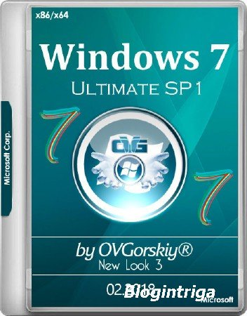 Windows 7 Ultimate x86/x64 SP1 NL3 by OVGorskiy 02.2018 (RUS/2018)
