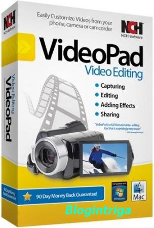 NCH Videopad Professional 6.01 (Ml/Rus/2018) Portable