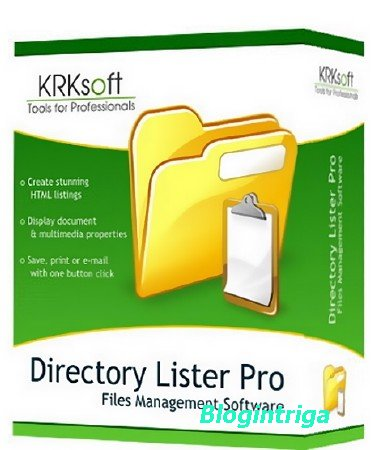Directory Lister Pro 2.25.0.786/785 Enterprise Edition