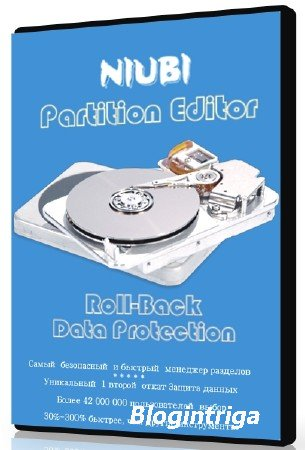 NIUBI Partition Technician Editor 7.1.0 + Rus