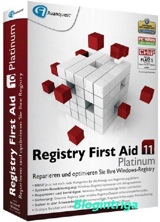 Registry First Aid Platinum 11.1.1 Build 2516