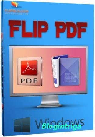 FlipBuilder Flip PDF Professional 2.4.9.17 RePack/Portable by TryRooM