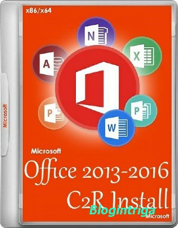 Office 2013-2016 C2R Install 6.0.8 Portable