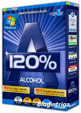 Alcohol 120% 2.0.3 Build 10521 Retail