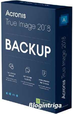 Acronis True Image 2018 Build 12510 RePack by KpoJIuK