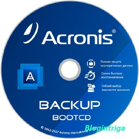Acronis Backup 12.5.1.10130 BootCD