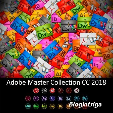 Adobe Master Collection CC 2018 v.3 by m0nkrus