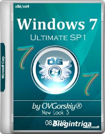 Windows 7 Ultimate/Pro SP1 x86/x64 NL3 by OVGorskiy 08.2018 (RUS/2018)