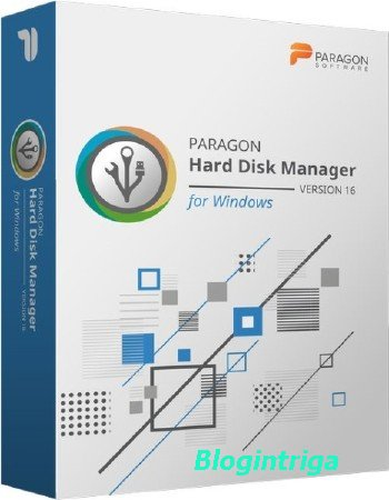 Paragon Hard Disk Manager 16.23.1 WinPE Edition ENG