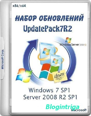 UpdatePack7R2 18.9.15 for Windows 7 SP1 and Server 2008 R2 SP1 ML/RUS