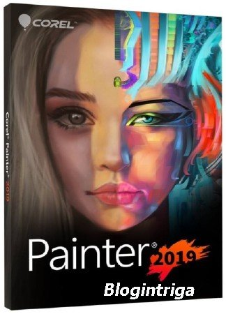 Corel Painter 2019 19.0.0.427 RePack by PooShock RUS/ENG