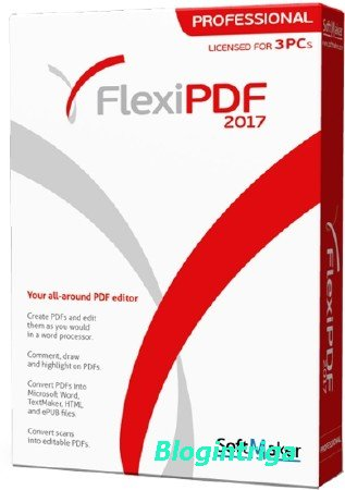 SoftMaker FlexiPDF 2017 Professional 1.11 ML/RUS