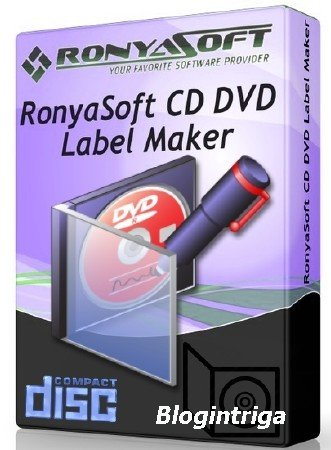 RonyaSoft CD DVD Label Maker 3.2.17 ML/RUS