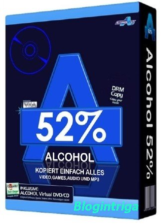 Alcohol 52% 2.0.3 Build 11012 Free Edition Final ML/RUS