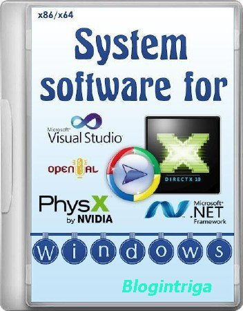 System software for Windows 3.2.4