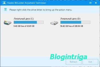 Hasleo BitLocker Anywhere 4.8 Professional / Technician