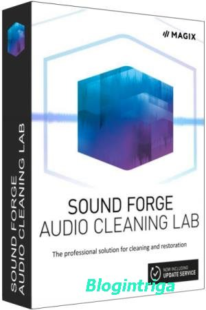 MAGIX SOUND FORGE Audio Cleaning Lab 23.0.0.19 Portable