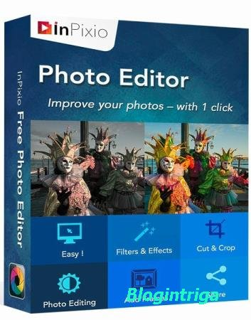 InPixio Photo Editor 9.0.7004.21000 RePack & Portable by TryRooM