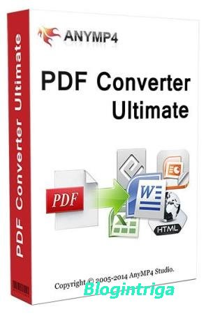AnyMP4 PDF Converter Ultimate 3.3.22 + Rus